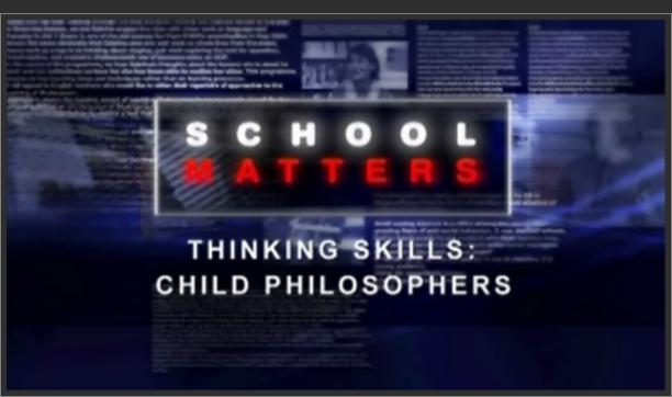 Thinking Skills: Child Philosophers