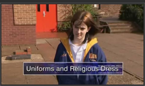 Uniforms and Religious Dress