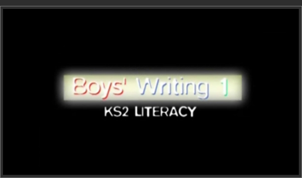 KS2 Literacy – Boys' Writing 1