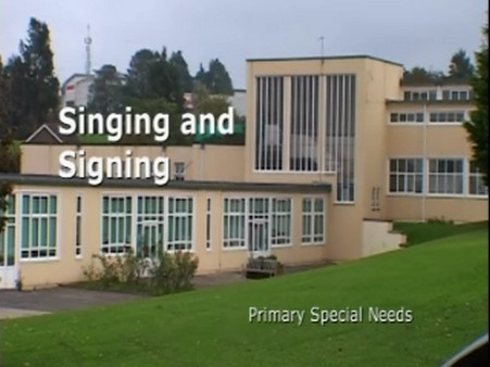 Primary Special Needs – Singing and Signing