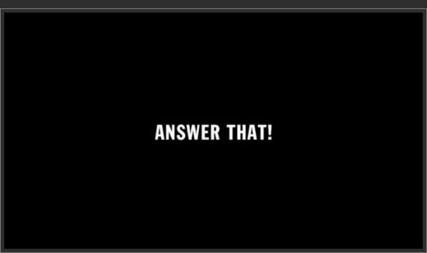 Answer That!
