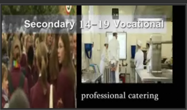 Secondary 14-19 Vocational – Professional Catering