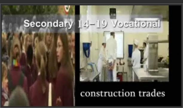 Secondary 14-19 Vocational – Construction Trades