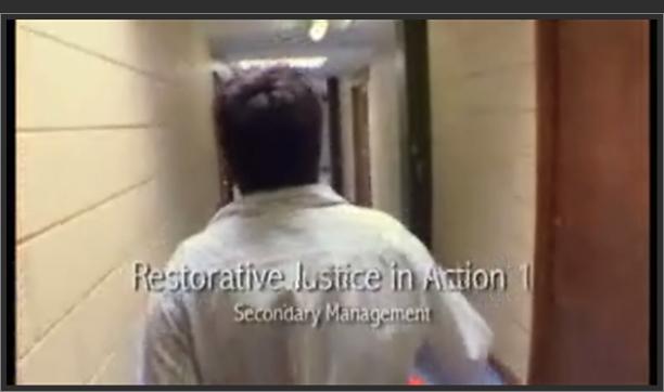 Restorative Justice in Action 1