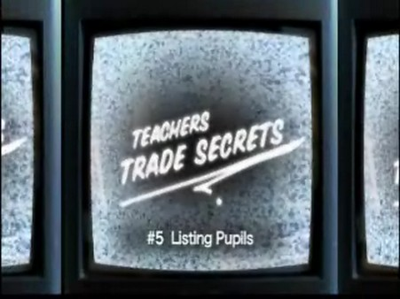Trade Secrets – Listing Pupils