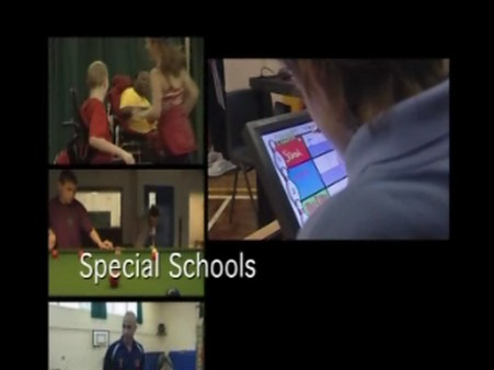Special Schools – PE – Changing the Rules