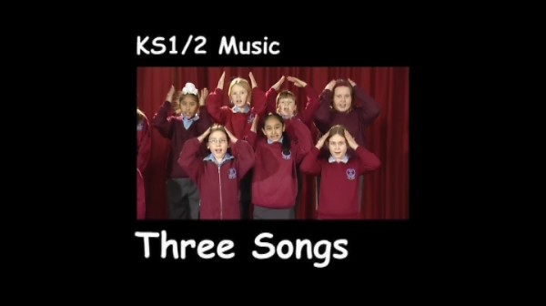 KS1/2 Music for Pupils – Three Songs