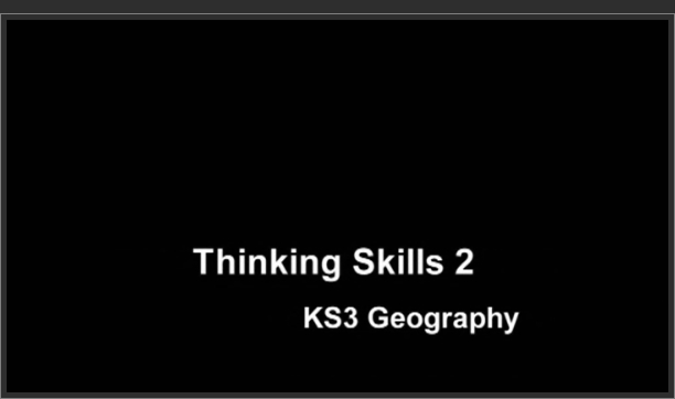 KS3 Geography – Thinking Skills 2