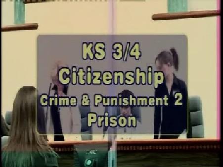 KS3/4 Citizenship – Crime and Punishment: Prison