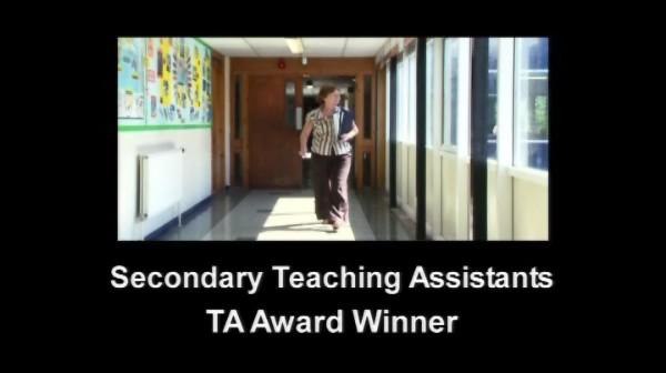 TA Award Winner