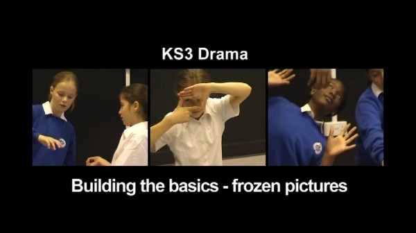 KS3/4 Drama – Building the Basics – Frozen Pictures