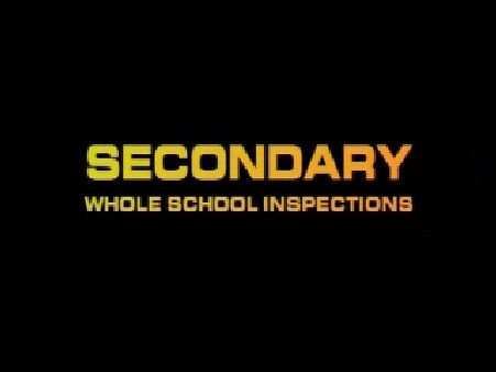 Secondary Whole School Inspections