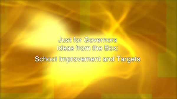 Ideas from the Box: School Improvement and Targets