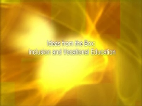 Ideas from the Box: Inclusion and Vocational Education