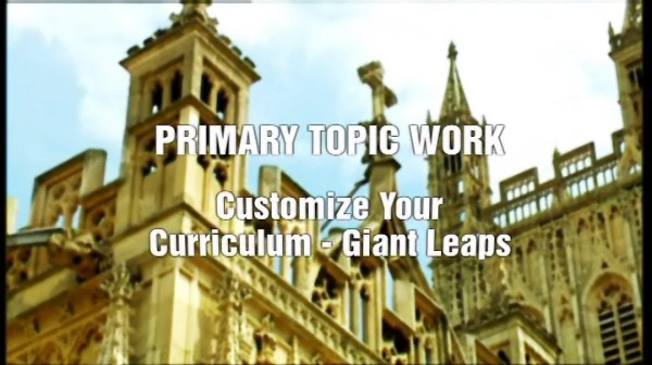 Primary Topic Work – Customise your Curriculum: Giant Leaps