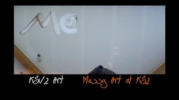 KS1/2 Art – Messy Art at KS2