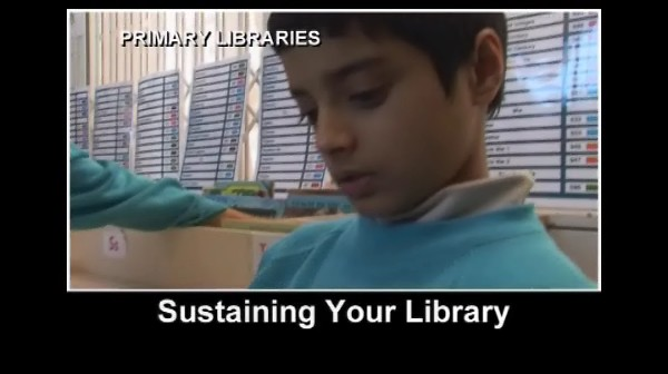 Primary Libraries – Sustaining Your Library
