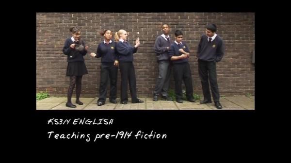 KS3/4 English – Teaching Pre-1914 Fiction