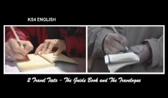 KS3/4 English: The Guide Book and The Travelogue
