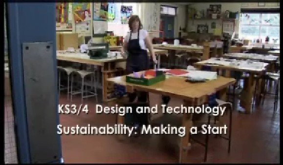 KS3/4 Design and Technology – Sustainability: Making a Start