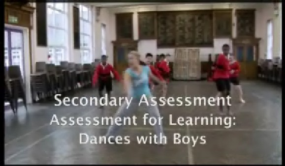 Secondary Assessment – Assessment for Learning: Dances with Boys