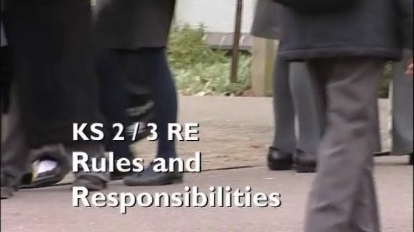 KS2/3 RE – Rules and Responsibilities