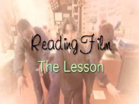 KS1/2 English – Reading Film: The Lesson