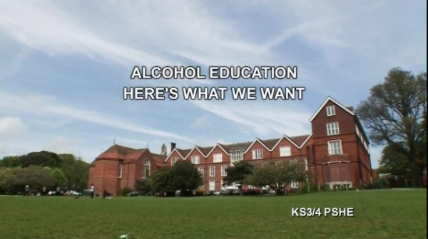 KS3/4 PSHE – Alcohol Education – Here's What We Want