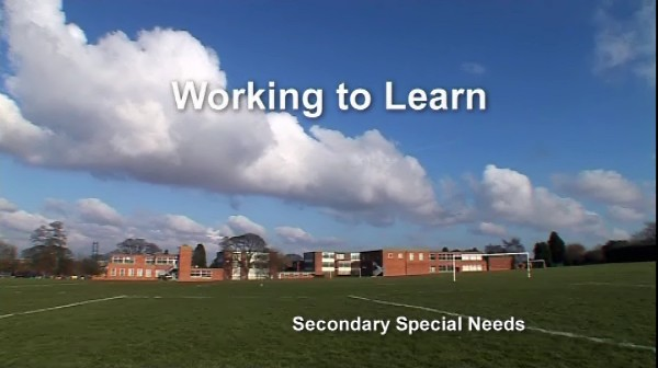 Secondary Special Needs – Working to Learn