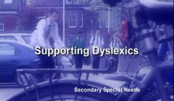 Secondary Special Needs – Supporting Dyslexics
