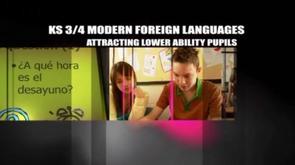 KS3/4 Modern Foreign Languages – Attracting Lower Ability Pupils