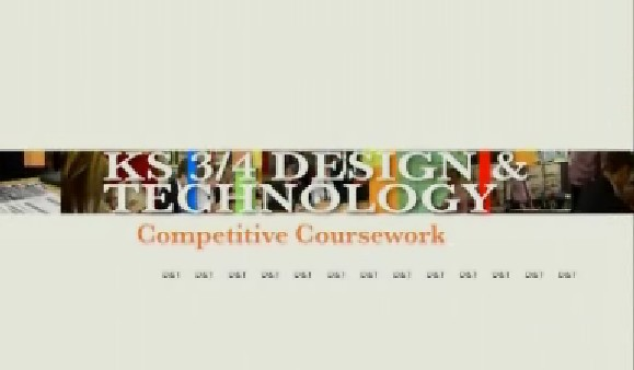KS3/4 Design and Technology – Competitive Coursework