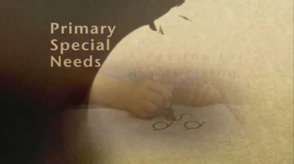 Primary Special Needs – A Passion for Handwriting