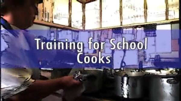 Training for School Cooks – Recipes for Success
