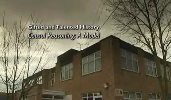 Gifted and Talented – History – Causal Reasoning: A Model