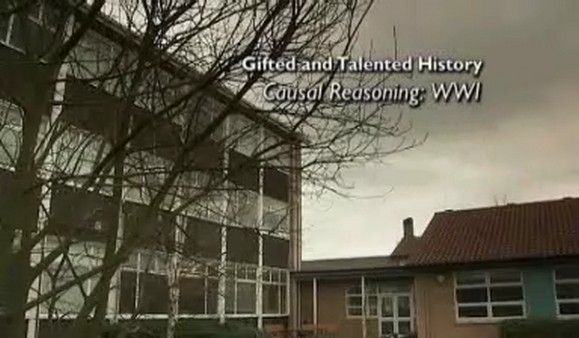 Gifted and Talented – History – Causal Reasoning: WW1