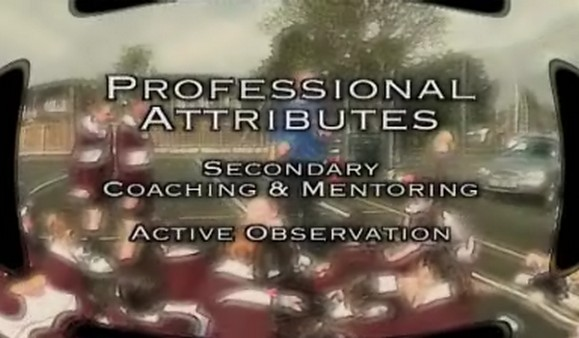 Secondary Coaching and Mentoring: Active Observation
