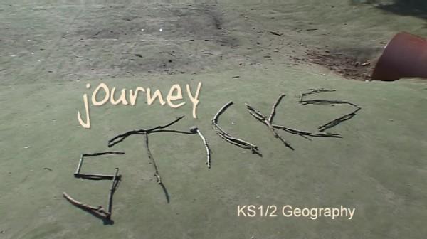 KS1/2 Geography – Journey Sticks
