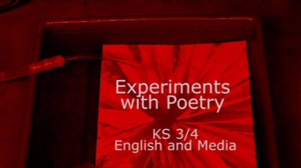 KS3/4 English and Media – Experiments with Poetry
