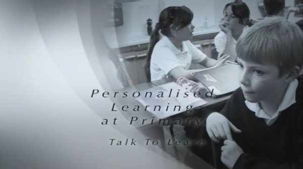 Personalised Learning at Primary – Talk to Learn