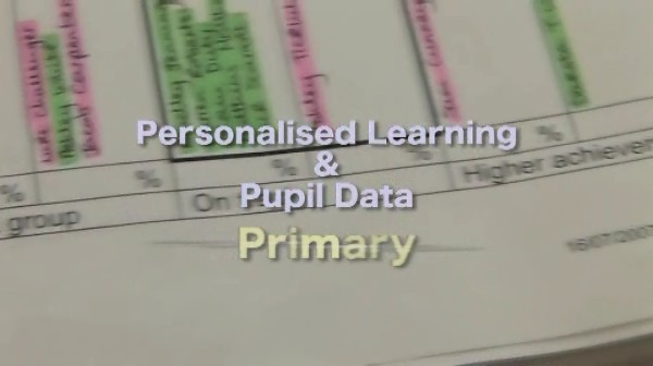 Personalised Learning and Pupil Data – Primary