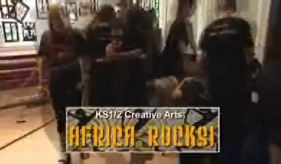 KS1/2 Creative Arts – Africa Rocks