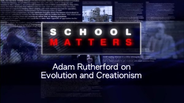 Adam Rutherford on Evolution and Creationism