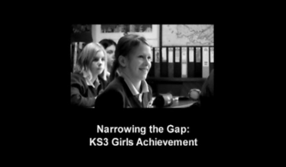 Narrowing the Gap – KS3 Girls Achievement