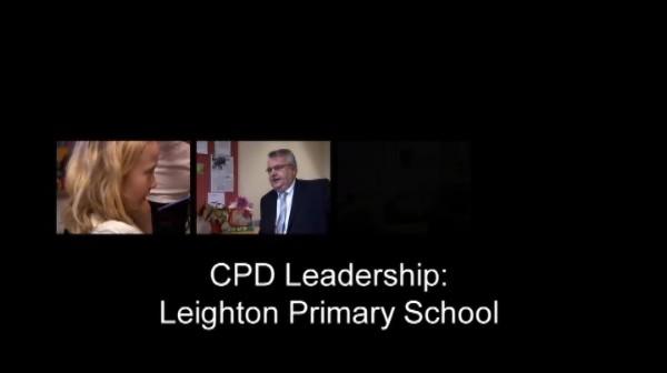 CPD Leadership – Leighton Primary School