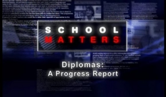 Diplomas – A Progress Report
