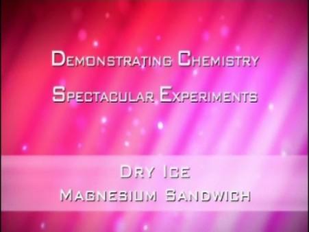 Dry Ice – The Magnesium Sandwich