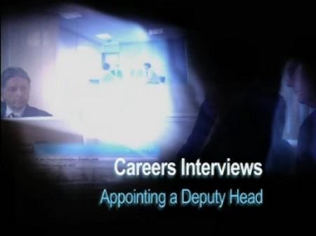 Appointing a Deputy Head