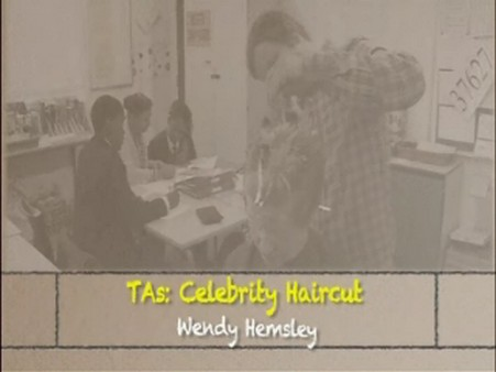 Celebrity Haircut – Wendy Hemsley