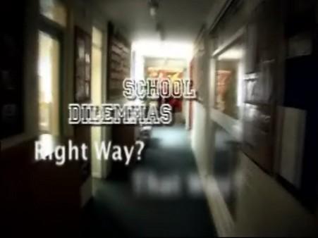 School Dilemmas – Behaviour Breakdown – Knife Nightmare